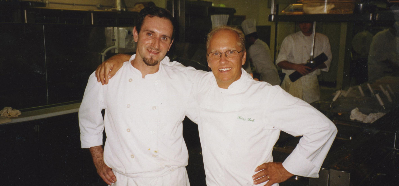 Eccomi qui con Heinz Beck nel 2002