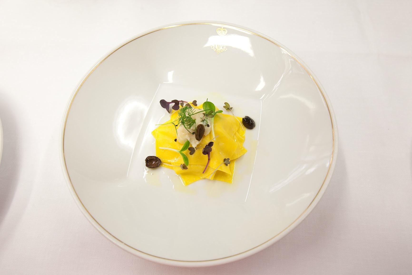 Lasagnetta al Black Cod