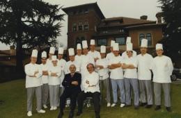 Paul Bocuse, ospite speciale all'Albereta di Gualtiero Marchesi
