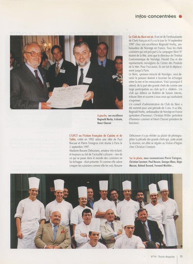Artaserse Pasqual Chef - articolo su Thuries Magazine