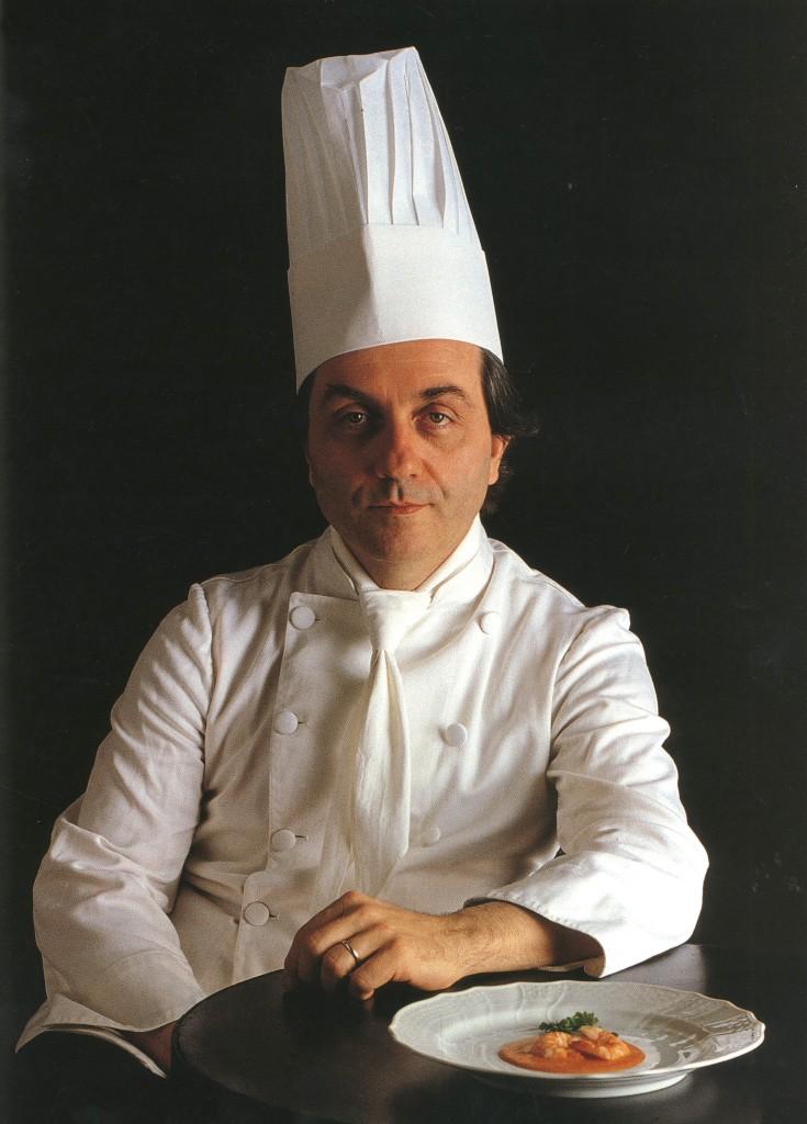 Il grande maestro Gualtiero Marchesi. Copertina del libro