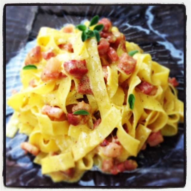 Carbonara why not?